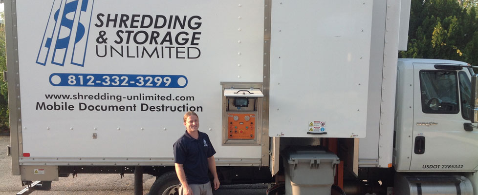 Welcome to Shredding and Storage Unlimited