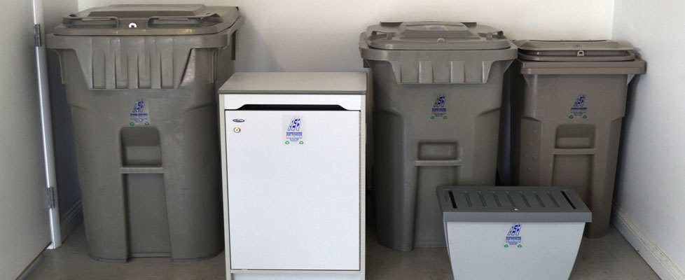 Wide Variety of Disposal Containers